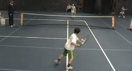 小さな名テニスプレーヤー