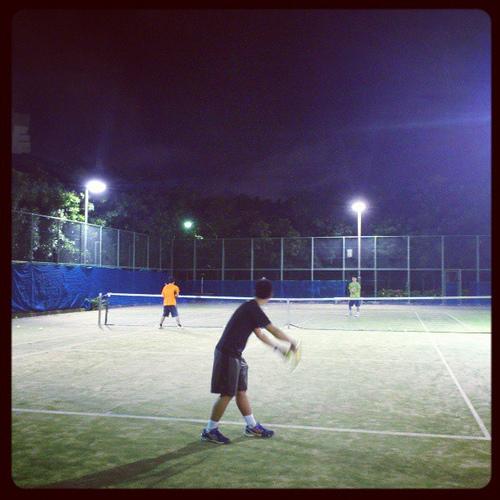 日曜テニスサークル練習日