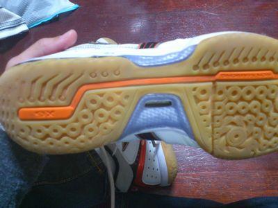 ミズノのシューズの靴底