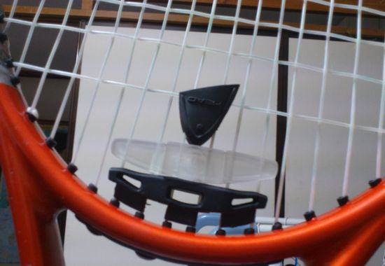 テニスの振動止め