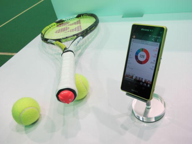テニスラケットセンサー