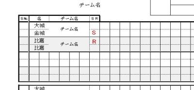 スコアシートの書き方手順01
