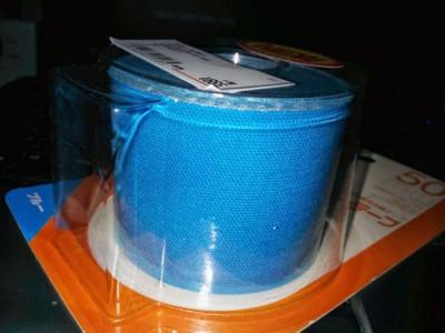 キネシオテープ青色
