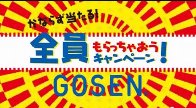 ゴーセンキャンペーン