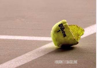 テニスボール破裂