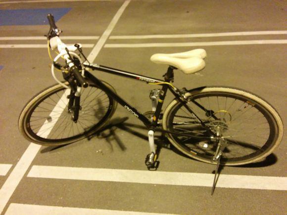 自転車借りました