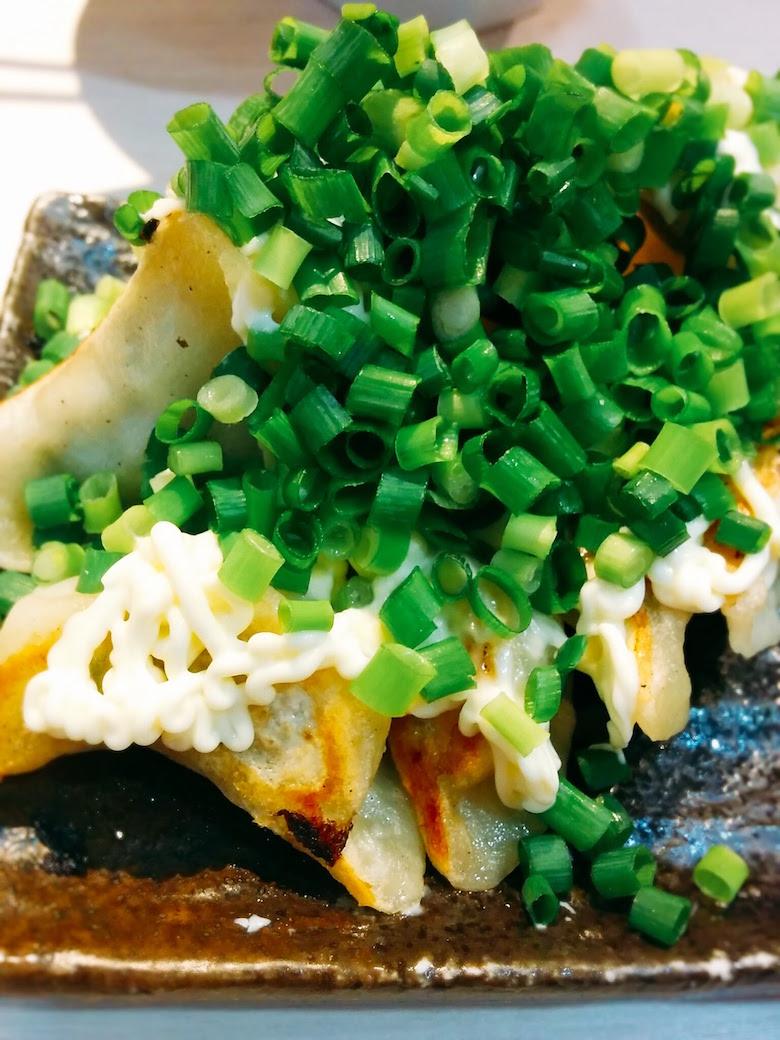 ネギマヨ餃子