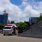 熱中症で救急車搬送